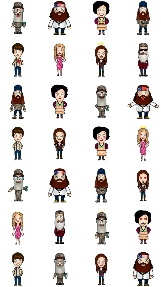 Sticker -  Duck Dynasty