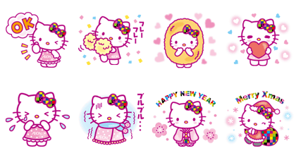 1285 - Hello Kitty Limited Edition Stickers